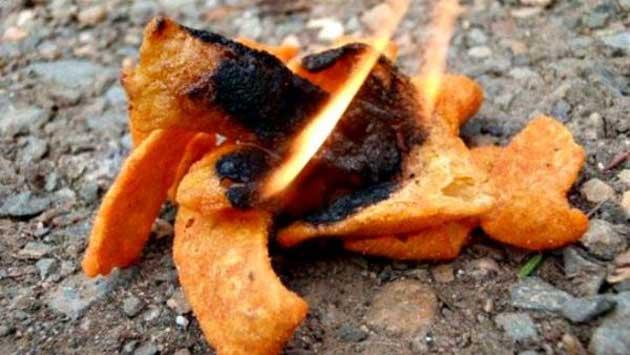 chips kampvuur