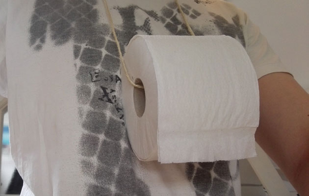 wc papier ketting