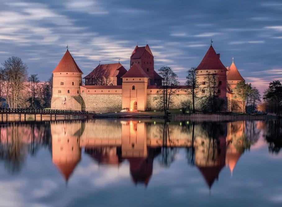 Kasteel Trakai Litouwen